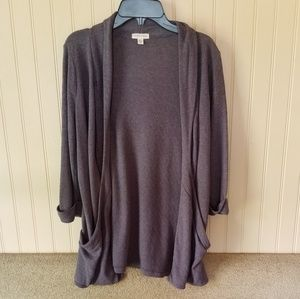 Silence + Noise sweater gray size medium